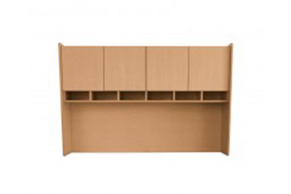 Librero sobre escritorio muebles ag for Muebles de escritorio precios