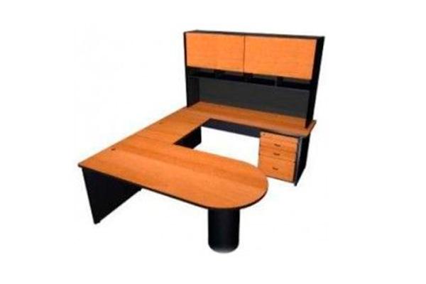 Credenza Con Librero : Modulo ejecutivo con librero muebles ag